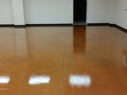 Stained & Sealed Floor 3