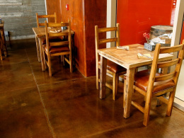 Stained Sealed Floor