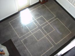Polished Concrete - Geometric Pattern