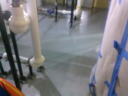 Epoxy Mechanical Room Floor