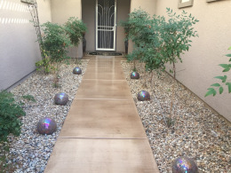 Stained Concrete Walkway-2