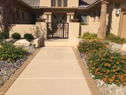 Textured Walkway