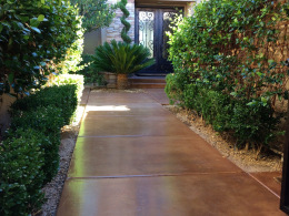 Stained Concrete Walkway-3