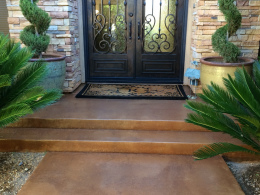 Stained & Sealed Entry