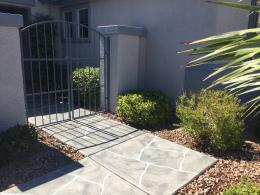 Grey Wide Cut Flagstone Walkway