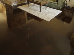 Stained & Sealed Floor