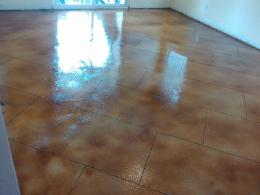 Acid Stained Interior Floor