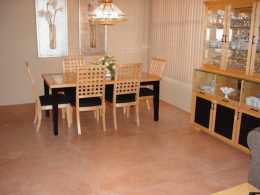 Stained & Sealed Dining Room