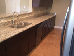 Textured Stain & Seal with Tile Pattern