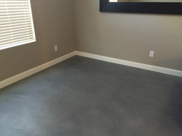 Interior Gray Stain & Seal