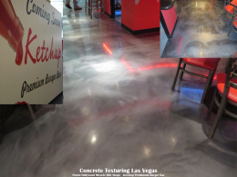 Metallic Epoxy Restaurant Floor