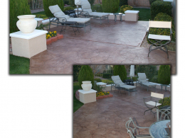 Thin Cut Flagstone Overlay
