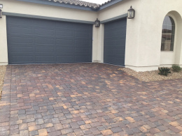 Driveway With Sealed Pavers