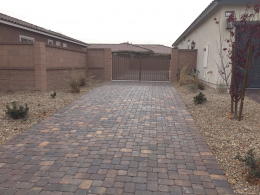 RV Parking with Sealed Pavers