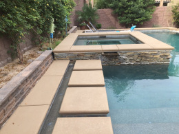 Textured Pool Deck 3