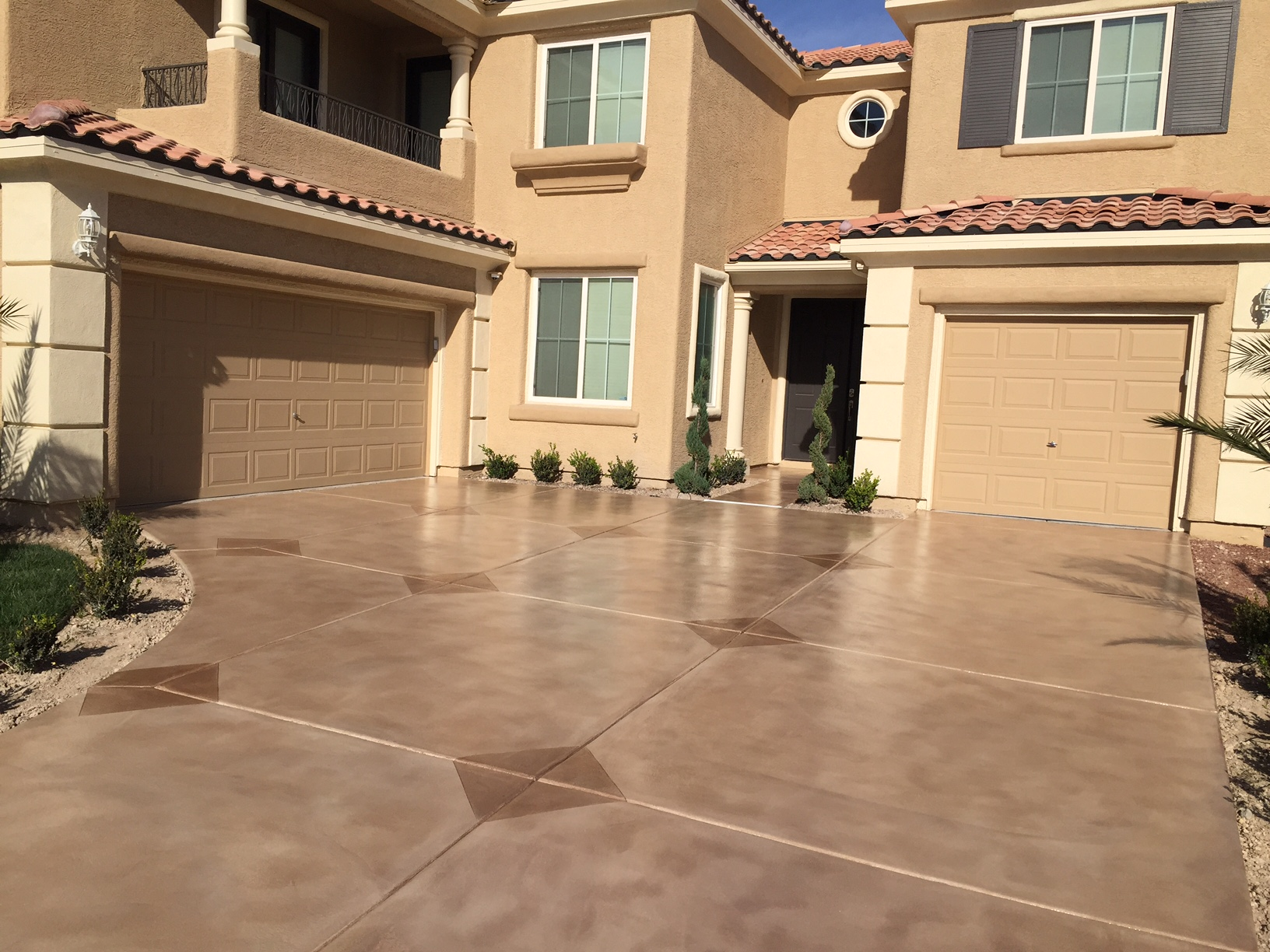 100% Of All Decorative Concrete Surfaces Must Be Maintained With A Periodic  Seal Coat. Weather, Sun, Traffic, And Water Will Gradually Deteriorate The  Seal ...
