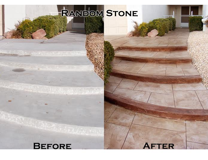 Concrete Overlay - Create A Blank Canvas Before Coloring Your ...