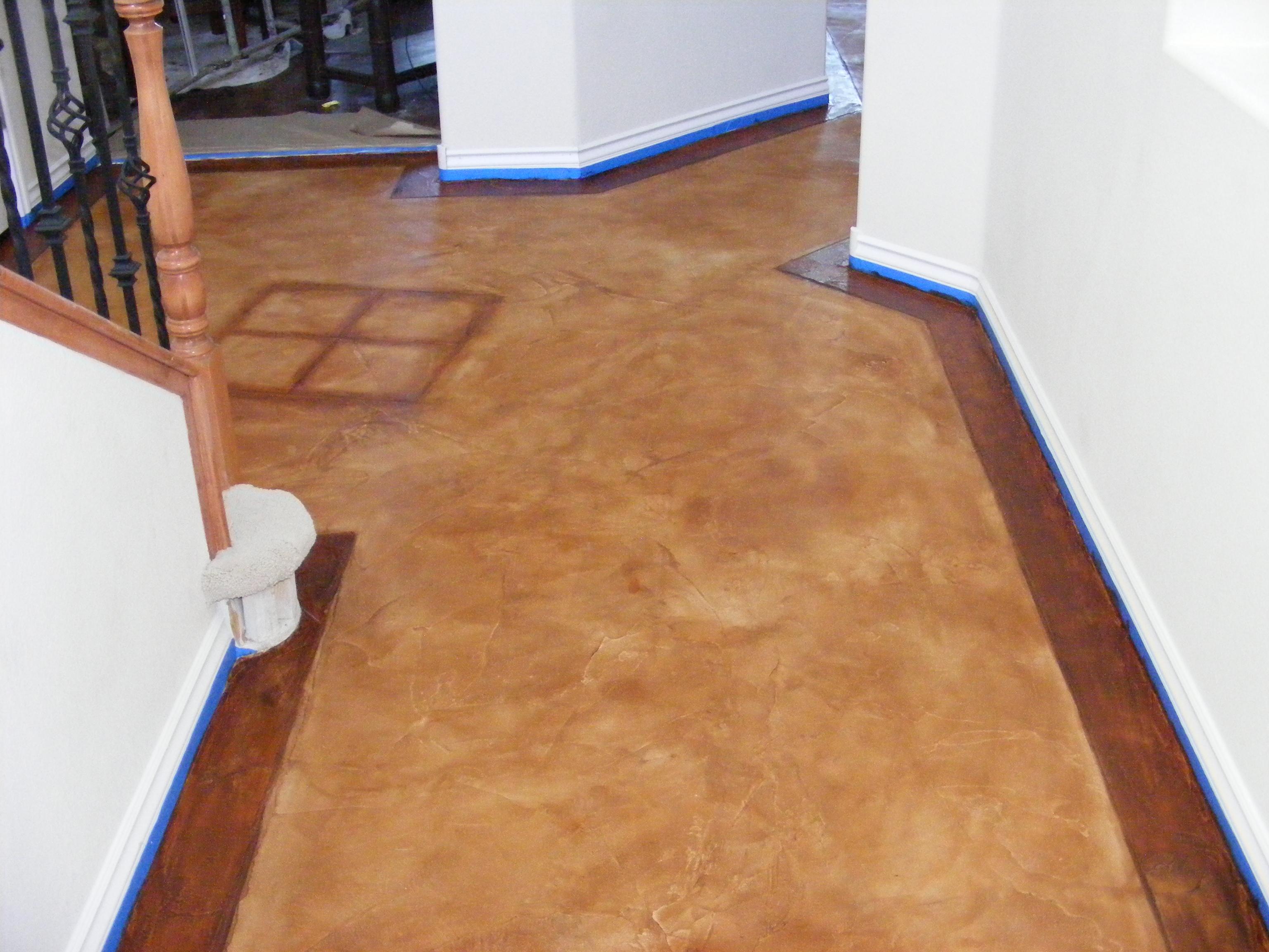 Interior residential concrete floors concrete for Decorative concrete floors residential